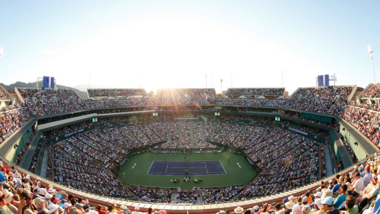 Image of indian wells stadium