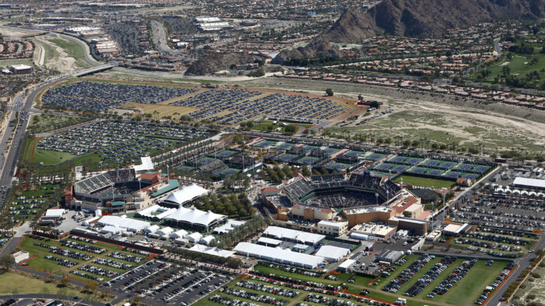 Parking at Indian Wells